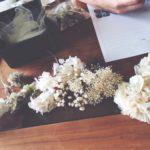 ■ウェディングフラワーの打ち合わせ 《bouton flower》