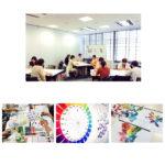 ■【受講後の感想】《知って得する色彩・パーソナルカラー》大阪商業大学 カルチャー講座